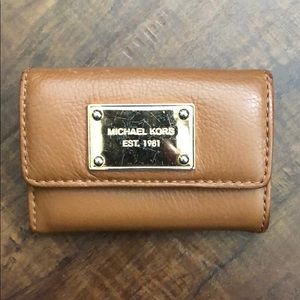 Michael Kors Card Wallet and Keychain